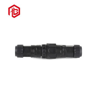 Nylon Material 2pin Waterproof Assembly Electrical Connector