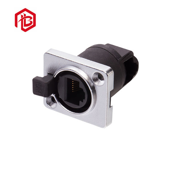 Customized IP67 Waterproof RJ45 Assembly Connector
