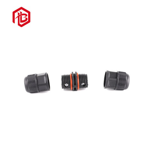 2 3 4 Pin IP67 L Type Assembly Screw Connector