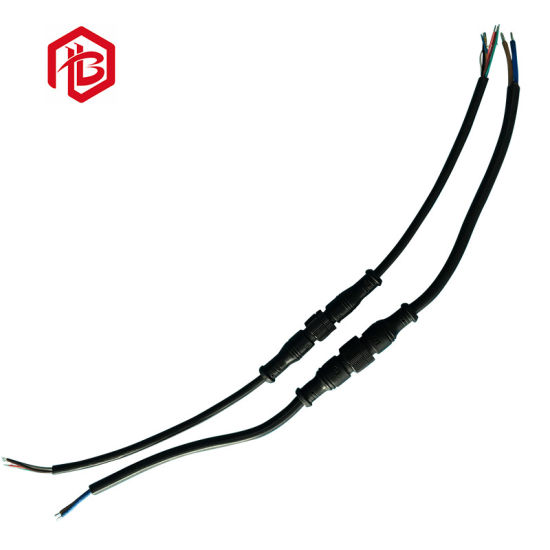 Top Quality M16 Metal 7pin 8pin 9pin LED Strip Light Socket and Cable