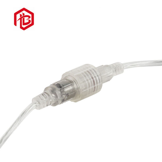Metal DC Electrical Connector with 2pin PVC Cable Splitter
